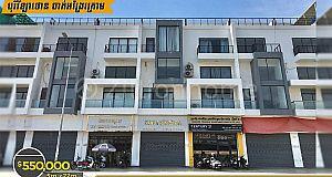 Shop House For Sale/ផ្ទះអាជីវកម្មលក់ ⚡️ បុរីវីឡាថោន ចាក់អង្រែក្រោម (ID: #D0136)