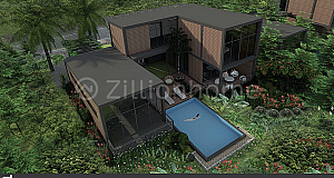 Villa No.51 for Sale (លើភ្នំមានបឹងខាងក្រោយ)