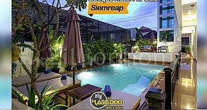 Villa For Sale/5-year-old Boutique Hotel for sale in Siem Reap Province