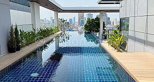 $1,200 - 2 BED | SERVICED APARTMENT FOR RENT IN PHNOM PENH