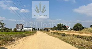 Land for sale on street 30 m in progress Seim Reap Commune,Kandal Steung, Kandal Province
