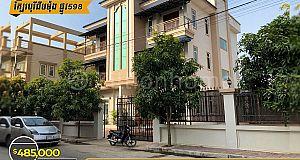 Villa For Sale/វីឡាទោល(លក់) នៅក្បែរបុរីជីបម៉ុងផ្លូវ598 (ID:#D0119)