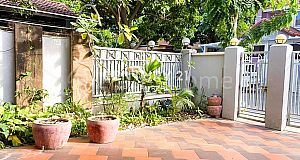 Link villa for rent or sale at Bassac garden  (C-5380)