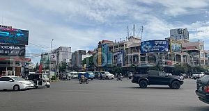 Shop House For Rent near Toul Kork roundabout