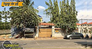 Land For Sale/ដីកែងលក់⚡️ ក្បែរផ្លូវម៉ុងឫទ្ធី  (ID:#D0125)