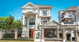5 NEW BEDROOMS PRINCE VILLA IN PENG HUOTH 60M