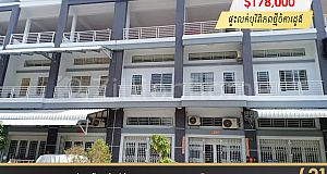 បុរីពិភពថ្មី ចំការដូងខណ្ឌដង្កោ |Flat for sale at Borey Chamkadoung at Dangkor district