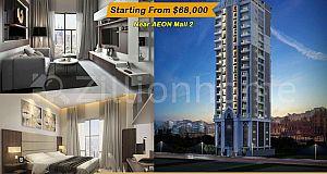 Condo For Sale/គម្រោងខុនដូ KCC តម្លៃសមរម្យ នៅផ្លូវ 596 ខណ្ឌទួលគោក