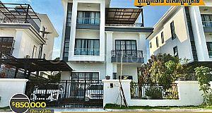 Villa For Sale/វីឡាទោលលក់⚡️ ក្នុងបុរីវីឡាថោន ចាក់អង្រែក្រោម  (ID:#D0186)