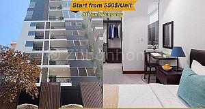 Apartment For Rent/Apartment ជួល⚡️Apartment Lin Ellis ទួលទំពូង  (ID:#D0222)
