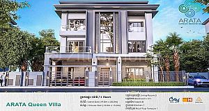 Queen Villa for Sale at Borey Arata Garden Residence