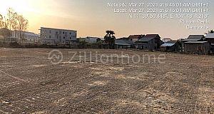 Land for immediate sale or rent in Khan Preak Pnov