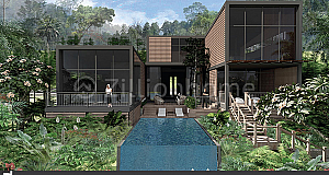 Villa For Sale (វីឡាទោលលើភ្នំខេត្តកំពត)