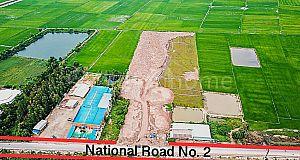Prime Land 3.5HA at National Road No.2/Takeo/Vietnam