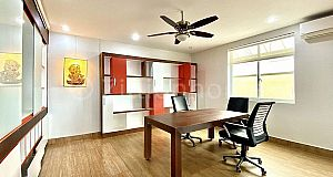 FULLY FURNISHED OFFICE FOR RENT NEAR CHINESE EMBASSY.